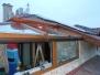 Télikert építés emeleti teraszon