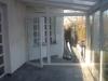 Télikert bejárati ajtóval