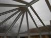 Alakos télikert tető