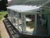 Télikert tető 60 x 60 alumínium merevítővel