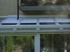 Télikert tető redőny fehér színben