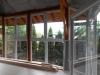 Terasz beépítés ablakokkal