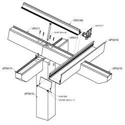 Aluminium pergola rendszer