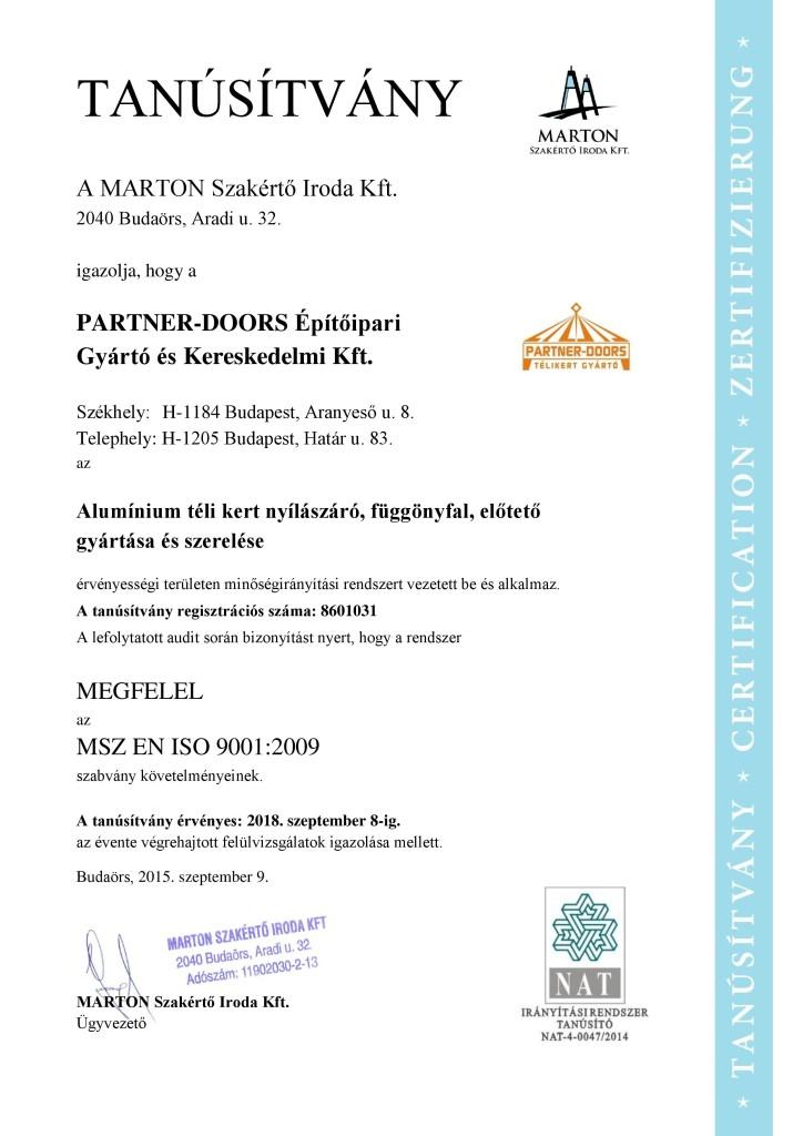 proofingHUN (ISO 9001)